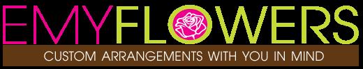 EMY Custom Flowers Logo
