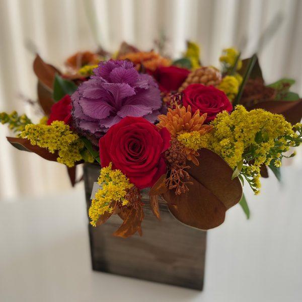 EMY Custom Flowers - Autumn Box 01